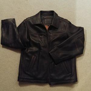Men's Sonoma leather jacket medium